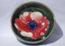 Vintage Moorcroft Anemone Miniature Bowl - 8cm Diameter
