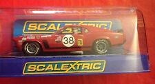 Scalextric C3107 Ford Mustang Trans Am Boss 302 Bill Todd Analog Slot Car **NEW
