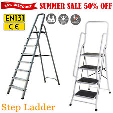Aluminium Folding Step Ladder 2 3 4 5 6 7 8 Tread Step ladder Tool Small Ladder