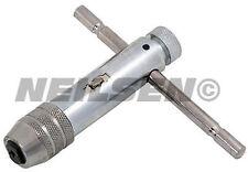 TOUT NOUVEAU 105mm T type clé de robinet à cliquet tailles M5 - M10 Forward et