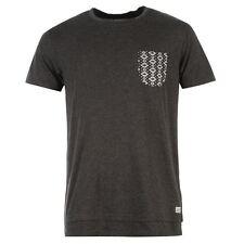 Firetrap Mens Gents Nicho T-Shirt Pocket Round Neck Short Sleeve Clothing