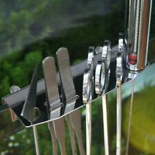 Stainless Steel Aquarium Maintenance Tools Tweezers Scissor Storage Holder Rack