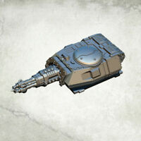 Legionary Assault Tank Turret: Annihilation Beamer Kromlech Resin KRVB046