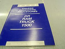 2002 Dodge DR Ram Truck 1500 Chassis Diagnostic Procedure Factory OEM Manual