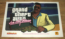 GTA Grand Theft Auto Vice City Stories & Gothic 3 rare small Poster 41x28cm