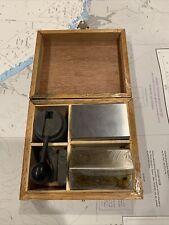 KENROK 5C COLLET BLOCK SET WITH  CASE