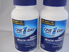 Bayer One A Day Men's Health New Formula, 200 Tablets EACH (2PKs) NEW exp 2019