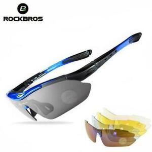 ROCKBROS Polarized Sunglasses Glasses Outdoor Cycling UV400 Goggles Eyewear