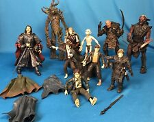 2001 Marvel Lord of the Rings 10 Action Figure Lot