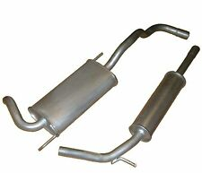 VW POLO 1.0 1.3 1.4 95-01 EXHAUST CENTRE REAR SILENCER TAIL PIPE SYSTEM NEW