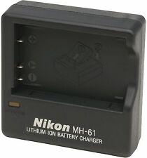 Caricabatterie Nikon MH-61 Orig x EN-EL5 P530 P520 P510 P500 P100 P5000 P5100