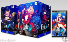 Used PSP Fate/Extra Limited Edition Box Japan Import Fate Extra w/figma