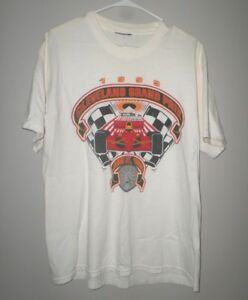 CLEVELAND GRAND PRIX lrg T shirt Indy car event '99 tee CART series defunct Ohio