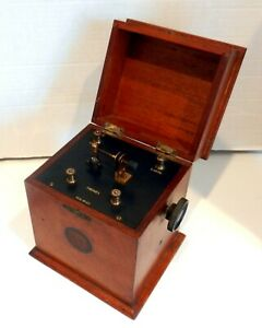 Early Crystal Cats Whisker Galena Wireless Set Radio Receiver Marconi Era 1920s