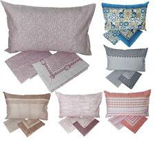 Completo letto lenzuola cotone singolo una piazza fantasie sotto sopra federa