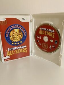 Super Mario All-Stars -- (Nintendo Wii, 2010) Complete With Manual