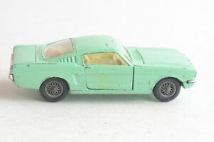 Corgi Toys No 320 Ford Mustang Fastback 2+2 - Made In Great Britain - (B25)