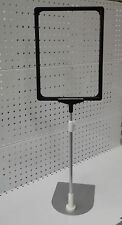 5 x retail price ticket holder A4 frame sign fruit grocery supermarket shelving