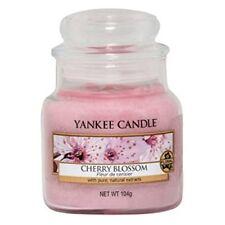 Yankee Candle Bougie Petite Jarre « Fleur de Cerisier » Rose