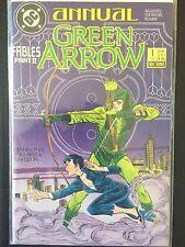 "Green Arrow Annual #1   (DC 1988)  ""Fables Part II""   Batman  Black Canary  VF"