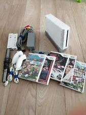Console Nintendo Wii +Jeux +manettes