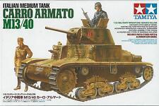 1:35 TAMIYA KIT DI MONTAGGIO CARRO ARMATO ITALIAN MEDIUM TANK M13/40  ART 35296