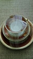 BAVARIAN THREE PIECE CUP, SAUCER AND PLATE SET