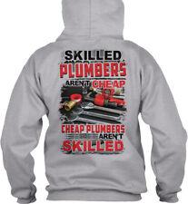 Skilled Plumbers Arent Cheap - Aren't Gildan Hoodie Sweatshirt