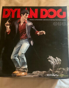 DYLAN DOG THE LIMITED EDITION INFINITE STATUE  COPIA N. 64/666 ACTION FIGURE