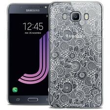 Crystal case for galaxy j7 2016 j710 extra slim rigid lace texture