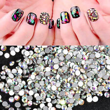1440PCS lot SS4 Crystal AB Rhinestone Tips Art Flat Back 3D DIY For Phones Nail