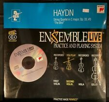 Violin 2: Ensemble Live String Quartet  Haydn Op. 33, #3  Cd with Sheet Music