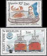 ST PIERRE ET MIQUELON N°527/528 - NEUF ** LUXE GOMME D'ORIGINE