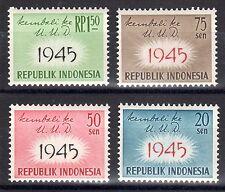 Indonesia - 1959 Constitution of 1945 Mi. 249-52 MNH