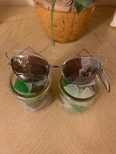 MASSINI Aviator Silver  Metal Frame With Gray Lens Sunglasses