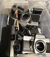 21x Kamera Praktica EXA Konvolut LOT verschiedene und doppelte Modelle