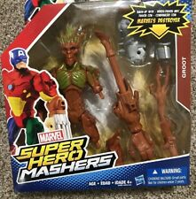 NEW Guardians of Galaxy Marvel Super Hero Mashers Groot Figure Destroyer 2015