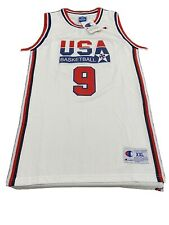 Vintage Champion Olympic Michael Jordan 1992 European Dream Team Jersey XXL NEW