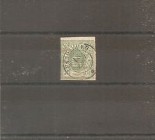 TIMBRE LUXEMBOURG 1859 N°10 OBLITERE USED COTE 225 EUROS