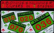 Telefoonkaart / Phonecard Nederland RCZ202 ongebruikt - Abonneenummer 7 in 4