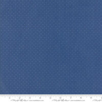 PROVENCAL French Fabric 3 yds Moda quilt American Jane blue polka dot 21098-126