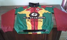 BELLISSIMA GIACCA JACKET CICLISMO CYCLING OFFICIAL CASTELLI. RASTA COLORS SIZE L