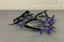Vintage Salewa 12-Point Ice Climbing Crampons Purple Satisfaction Guaranteed