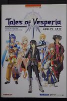 JAPAN Tales of Vesperia Official Complete Guide Book Bandai Namco Games Books 19