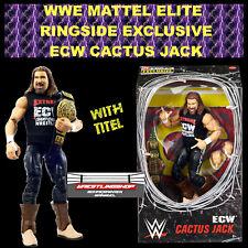 WWE MATTEL ELITE RINGSIDE EXCLUSIVE ECW CACTUS JACK WRESTLING ACTION FIGUR WCW