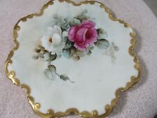 Antique Limoges Decorative Plates