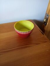 Silicon cupcake moulds X6 For Baking