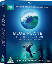 The Blue Planet Series 1 & 2 Collection Blu-ray Boxset David Attenborough New