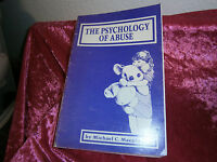 Book-The Psychology of Abuse by Michael C. Macpherson 1985, PB Social Science