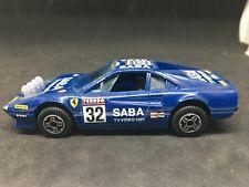 Burago 1:43 FERRARI 308 GTB Racing Car #32 SABA TV VIDEO HIFI